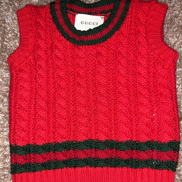 9318efa87bb Gucci Shirts & Tops | Baby Cable Knit Sweater | Poshmark